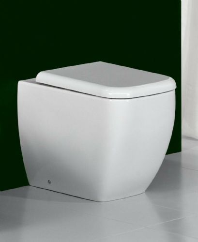 RAK Metropolitan Back To Wall WC With Soft Close Toilet Seat